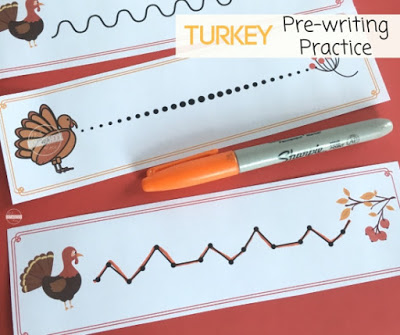 turkey-preschool-worksheets