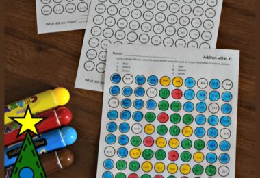 Bingo-Dabber-Christmas-Math-Worksheets