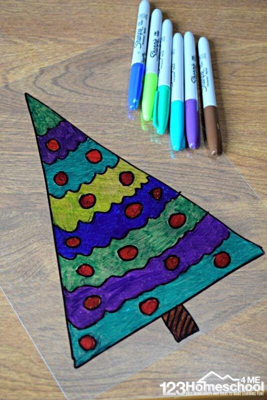 Christmas-Sharpie-Suncatcher-Craft-for-Kids