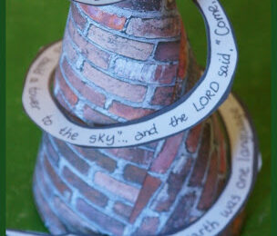 Tower of Babel Craft for Kids
