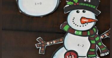 Math snowman