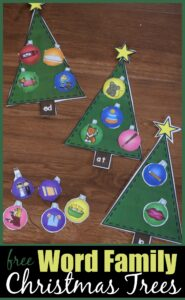 free-word-family-Christmas-trees
