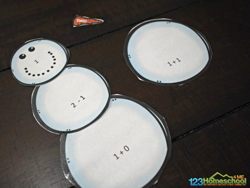 snowman-math-practice