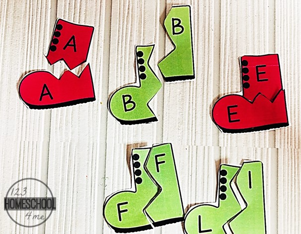 uppercase-lowercase-letter-matching-activity