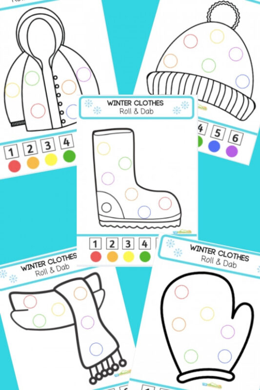 winter-bingo-marker-worksheets