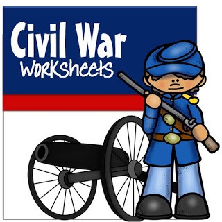 Civil War Worksheets for kids