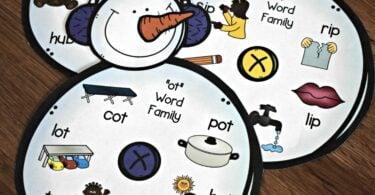 FREE-Snowman-Word-Family-Activity