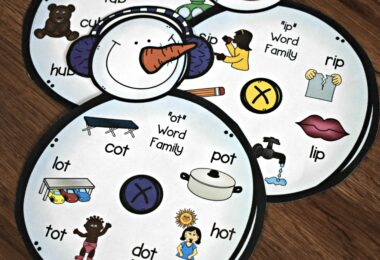 FREE-Snowman-Word-Family-Activity