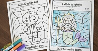 Preschool-Sight-Words-Coloring-Page