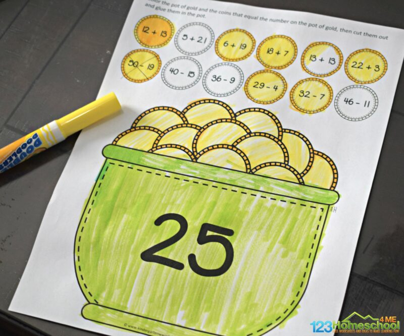 St-Patricks-Day-Addition-and-Subtraction-Practice
