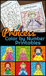 disney-princess-color-by-number-printables