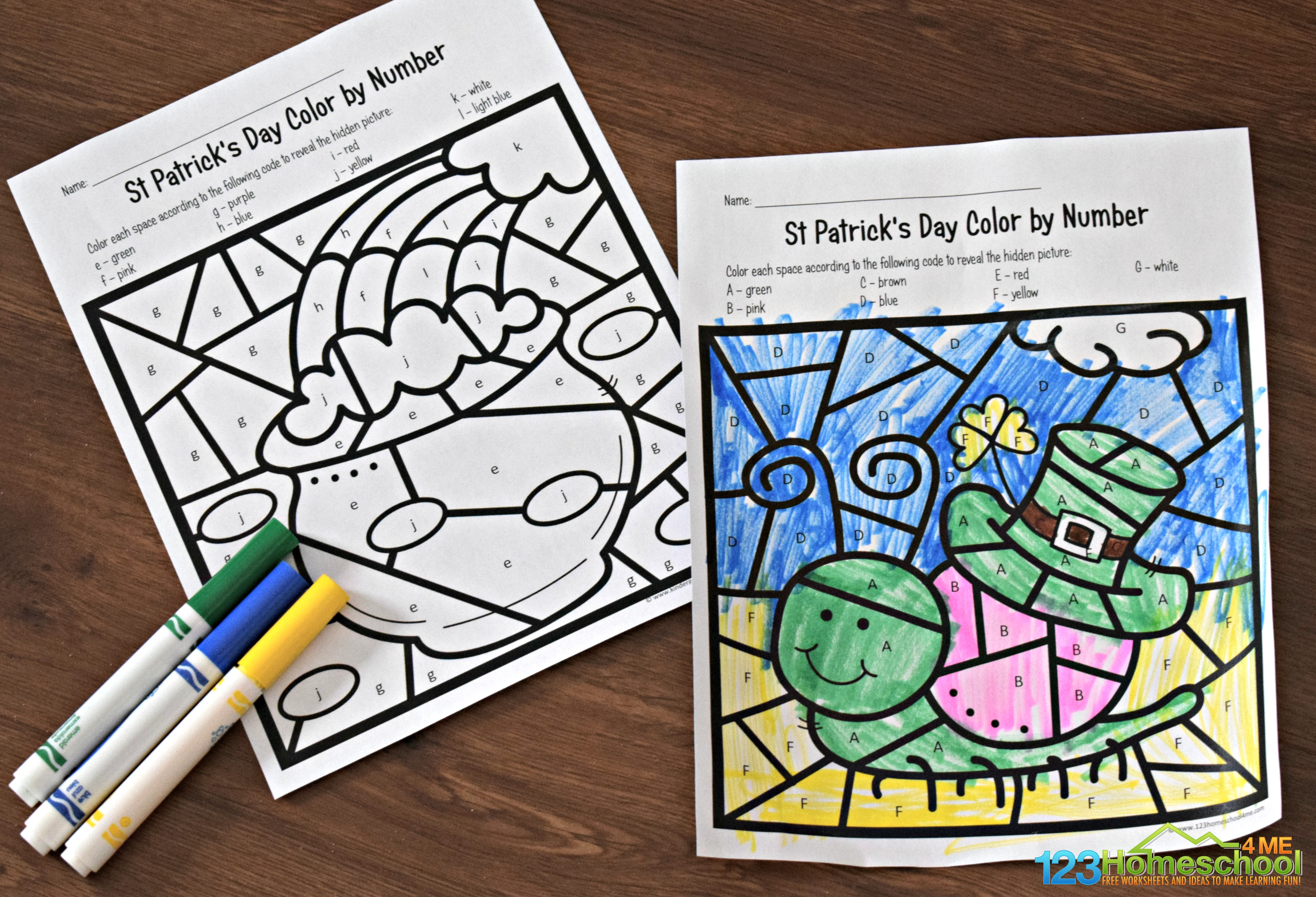100 St. Patrick's Day Coloring Pages by mason1921 - issuu   1024x1501
