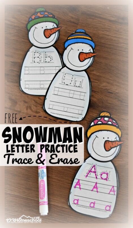 free-Snowman-Letter-Practice-trace-and-erase