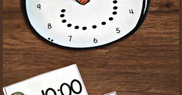 free-snowman-clock-activity-for-kindergarten-math