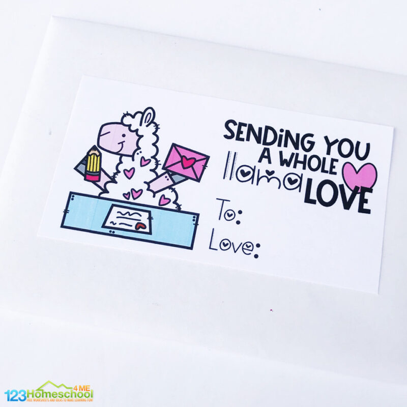 picture about Printable Stationary for Kids named Cost-free Valentines Working day Letter Producing Package for Little ones 123