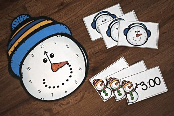 snowman-telling-time-game