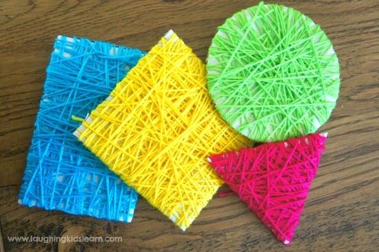 yarn-wrapped-shape-craft