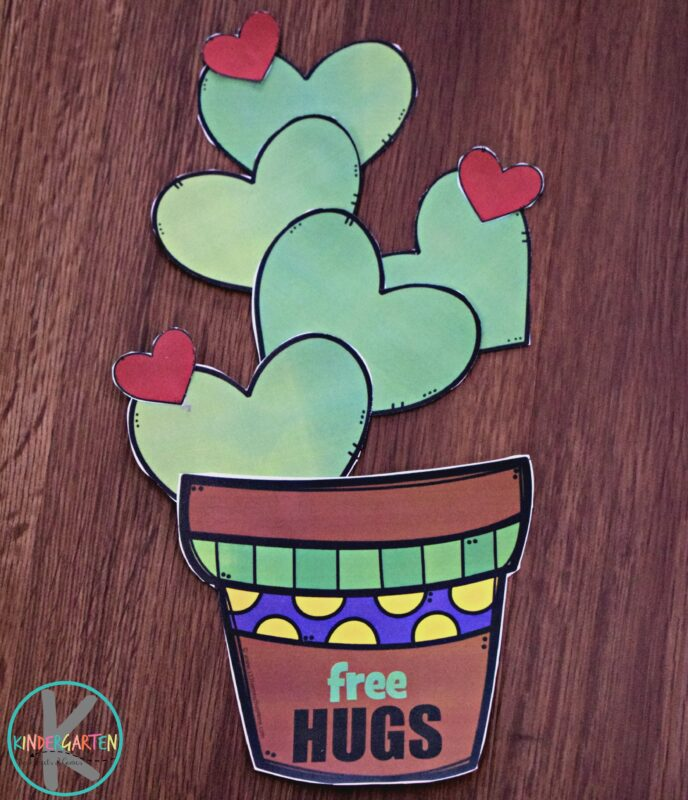 Valentines Day Cactus Craft