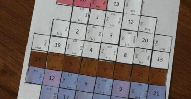 Valentines Day Math Craft - Addition