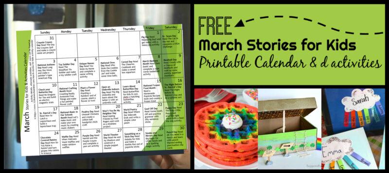 March-Activity-Calendar