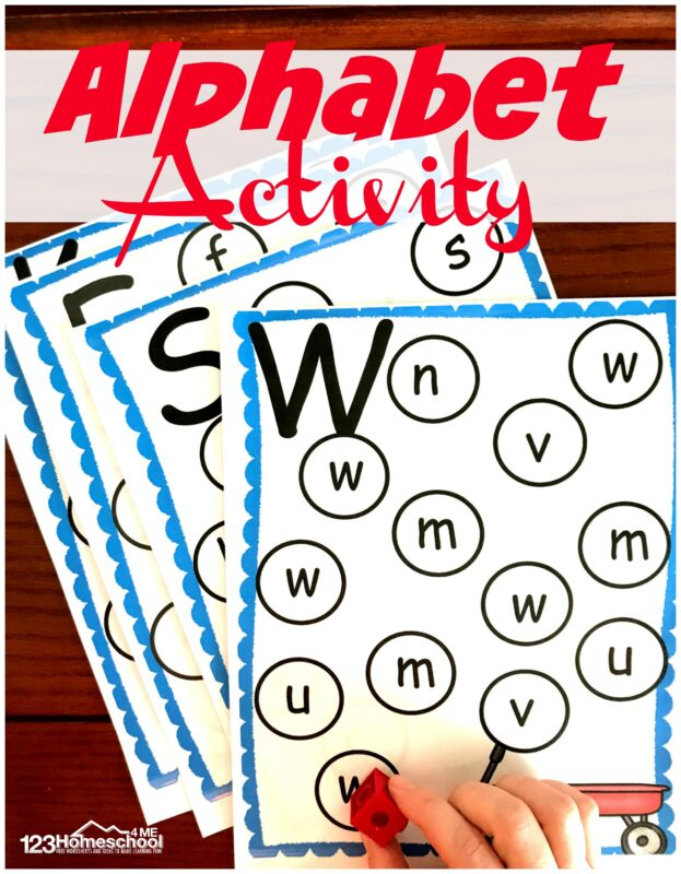 Learning letters is an important part of any toddler, preschool, pre-k, and kindergarten curriculum. ThisFree ABC Letter Find Printable is a fun, simple, and reusable alphabet activity for young learners to practice letter recognition. Simply download thealphabet printablesto make learning fun with analphabet I spy activity that is reusble.