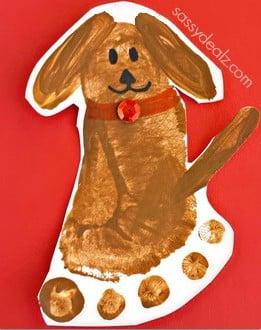 footprint-puppy-dog-craft