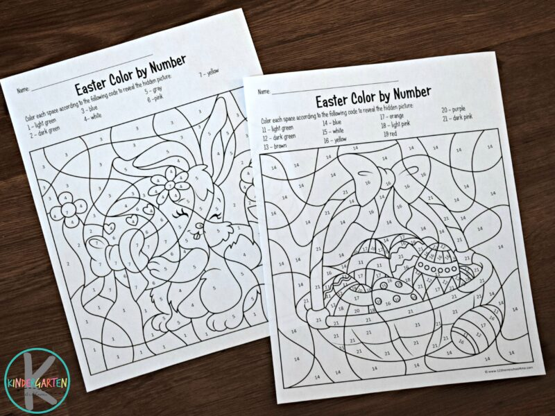 free-easter-color-by-number-printable