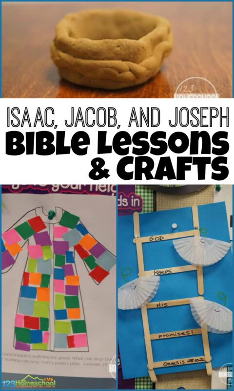 Isaac, Jacob, and Joseph Bible Lessons - clever ideas for your next sunday school lesson for preschool, kindergarten, first grade, 2nd grade, and 3rd grade kids #biblecrafts #biblelessons #sindayschool
