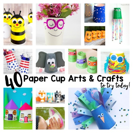 40 Creative Paper Cup Craft Ideas To Try Today 123 Homeschool 4 Me