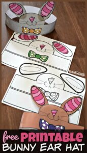 Adorable bunny ear hat for kids