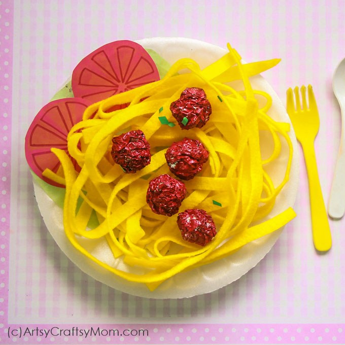 spaghetti-and-meatball-craft-for-kids