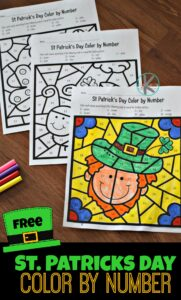 st-patricks-day-color-by-number-for-kids