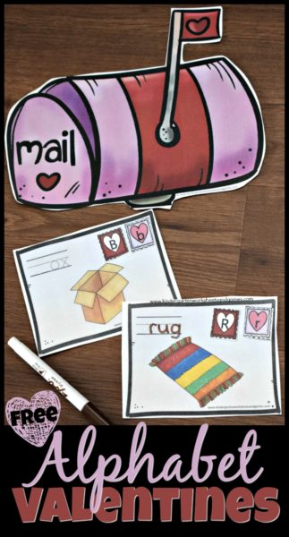 FREE Valentines Day Alphabet Activity