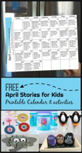 April Stories for Kids