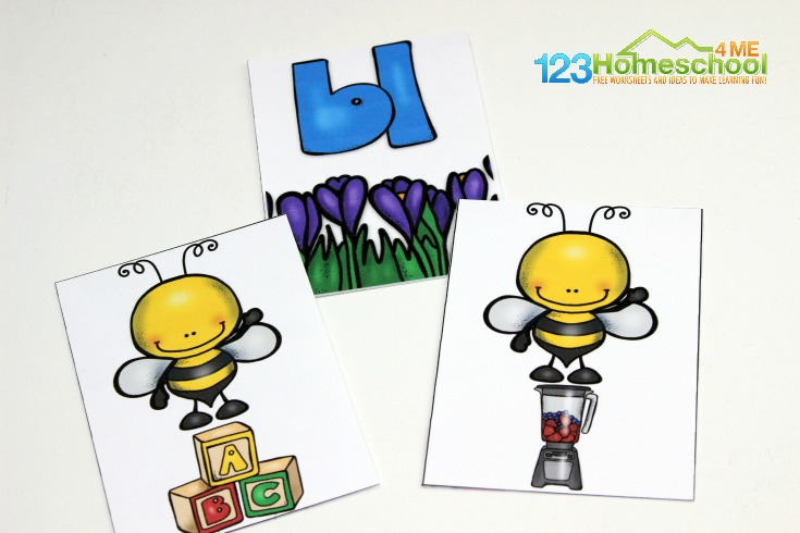 Consonant blends activity to match br, cr, dr, fr, gr, pr, tr, sp, st, sw, sc, sk, and sn with images with the same initial sounds