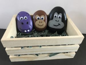 Super cute animal pet rock crafts for kids