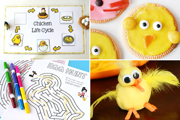 Super cute chick activities to try this spring