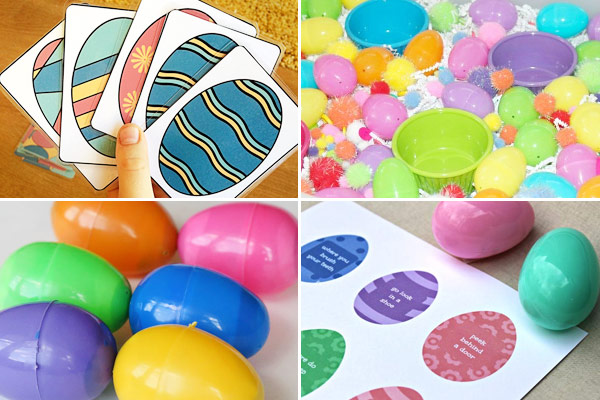 So many fun egg themed Easter activities for kids