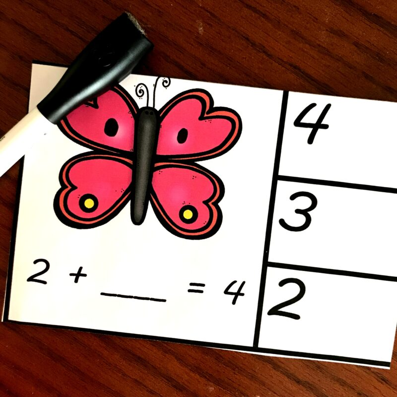 Free math game for practicing addition within 10
