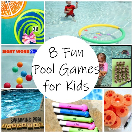 play and learn games for the pool