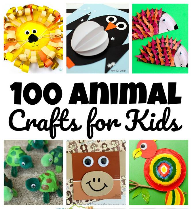 Over 100 EPIC crafts and activities for Zoo Day