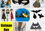 Calling all Batman Fans!! Enjoy 8 Must Try Crafts for your little one(s) inspired by everybody's favorite superhero- Batman!