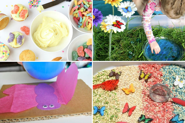 Caterpillar and Butterfly Activities