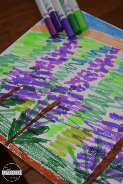 lupine-flower-art-project-for-kids