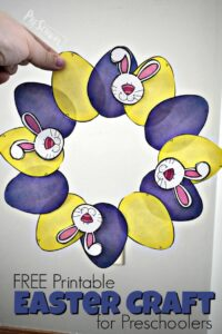 printable easter craft for kids