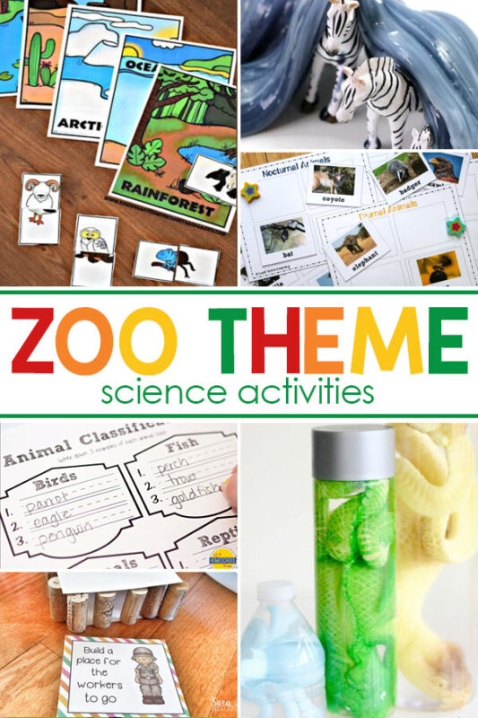 Zoo Science Activities Add some of these fun zoo science activities for preschoolers to help kids of all ages get excited about science with fun zoo science experiments and projects.