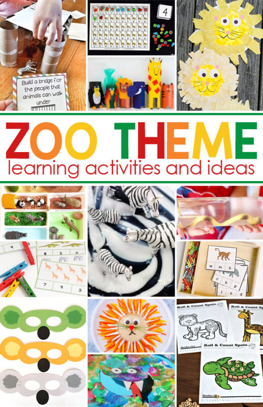 This fascinating week-long Zoo Theme will make a fun week of learning for your toddler, preschool, pre-k, kindergarten, first grade, 2nd grade, 3rd grade, and 4th grade students! Learn all about zoos and zoo animals with zoo activities for preschoolers!We have zoo crafts, zoo activities, zoo math, zoo science, zoo social studies, zoo printables and so much more! So get ready for outrageous fun with lions, and tigers, and bears - oh my with thesezoo activities for kids!