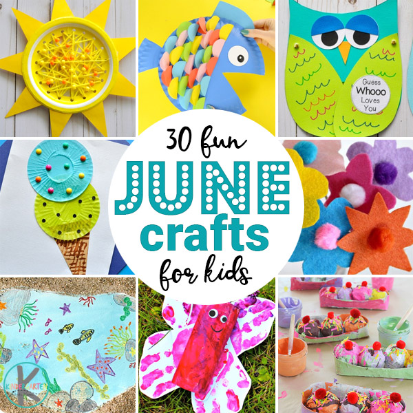 June Crafts for Kids