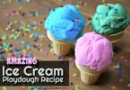 Amazing Ice Cream Playdough Recipe