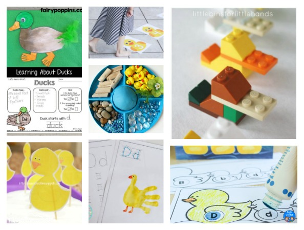 Duck Theme Activities for Donald Duck Day